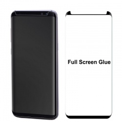 Samsung Galaxy S8 Tempered Glass Screen Protector Full Glue