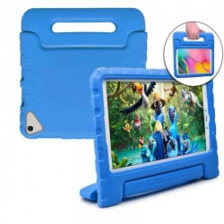 SAMSUNG TAB A 8.0 (2019) SM-T290 Kids with Carry Handle | Blue