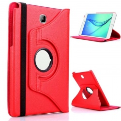 SAMSUNG TAB A 8.0 (2019) SM-T290 - 360 Rotating Case Red