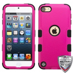 iPod Touch (6th Generation) MYBAT Natural TUFF Hybrid Protector Cover HotPink