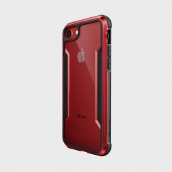 iPhone 7 / iPhone 8 Case X-Doria Defence Shield- Red