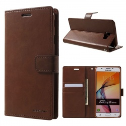Samsung Galaxy A3(2016) Bluemoon Wallet Case Brown