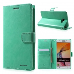 Samsung Galaxy A3(2016) Bluemoon Wallet Case Mint