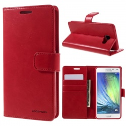 Samsung Galaxy A3(2016) Bluemoon Wallet Case Red
