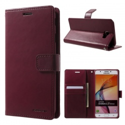 Samsung Galaxy A3(2016) Bluemoon Wallet Case Wine