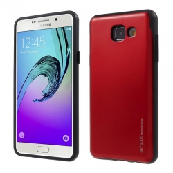 Samsung Galaxy A5(2017) Sky Slide Bumper Case Red