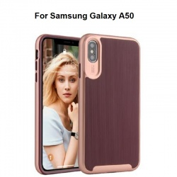 Samsung Galaxy A50 Wavelength Shockproof Case | Burgundy
