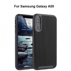 Samsung Galaxy A50 Wavelength Shockproof Case | Black