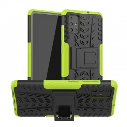 Samsung Galaxy A71 Case - Green Tyre Defender