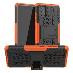Samsung Galaxy A71 Case - Orange Tyre Defender