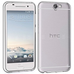 HTC One A9 Silicon Case Clear