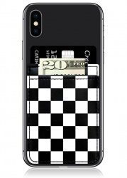 Checkered Phone Pocket | iDecoz