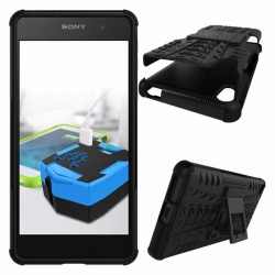 Sony Xperia E5 Tyre Defender Black