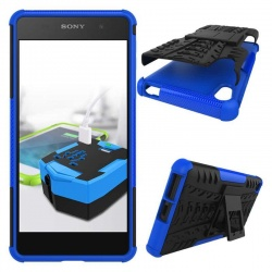 Sony Xperia E5 Tyre Defender Blue
