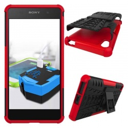 Sony Xperia E5 Tyre Defender Red