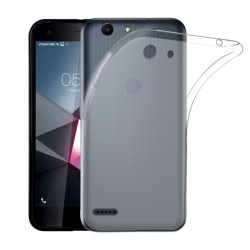 Vodafone Smart E8 Silicon Case Clear
