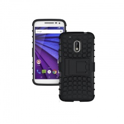 Motorola G4 Play Tyre Defender Cover Black