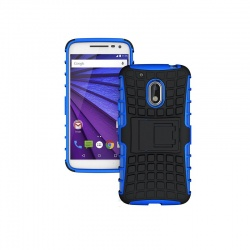 Motorola G4 Play Tyre Defender Cover Blue