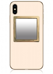 Gold Square Phone Mirror | iDecoz