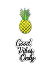 Good Vibes Only Phone Charms | iDecoz