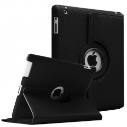 iPad 2/3/4-360 Rotating Case Black