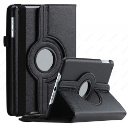 iPad Mini 1/2/3 - 360 Rotating Case Black