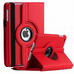 iPad Mini 1/2/3 - 360 Rotating Case Red