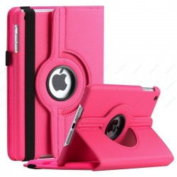 iPad Mini 1/2/3 - 360 Rotating Case HotPink