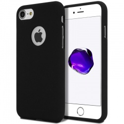 iPhone 7 / iPhone 8 Case Goospery Soft Feeling- Black