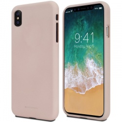 iPhone X Case Goospery Soft Feeling Case Pink Sand