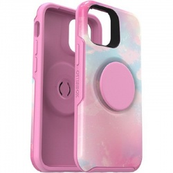 iPhone 12 Mini  OtterBox Pop Symmetry Series Case Pink  Graphic