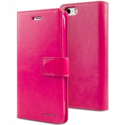 iPhone SE/5S/5 Bluemoon Wallet Case Hot Pink