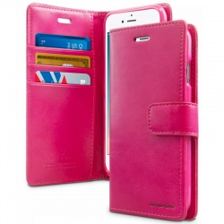 iPhone 6/6s Bluemoon Wallet Case HotPink