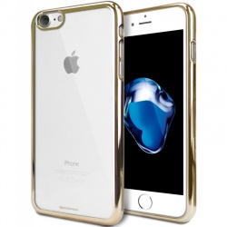 iPhone 7 / iPhone 8 Case Ring2 Jelly Gold