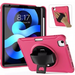 iPad Air/ iPad Air2 / iPad Pro 9.7 Shockproof Cover With Strap Holder| Pink