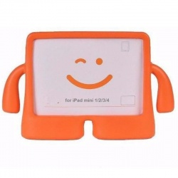 iPad Mini 1/2/3/4 Case for Kids Drop-proof Shockproof Cover Case with Kickstand Kids Case Orange
