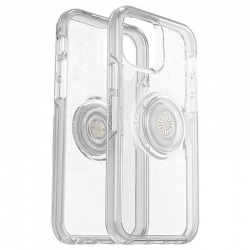 iPhone 12 / 12 Pro Otter + Pop Symmetry Series Case Black