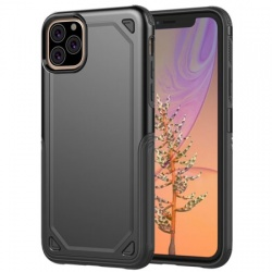 iphone 11 Pro Max Shockproof Hybird Armor Case | Black