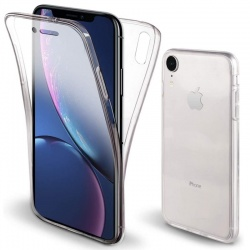 Apple iPhone XR 360 Protective Shockproof TPU Case| Clear