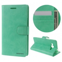 Samsung Galaxy J3(2016) Bluemoon Wallet Case Mint