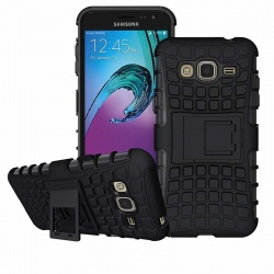Samsung Galaxy J3(2016) Tyre Defender Black