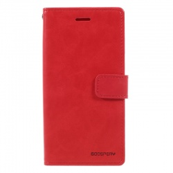 Samsung Galaxy J5(2017) Bluemoon Wallet Case Red
