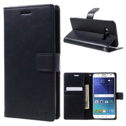 Samsung Galaxy J5(2016) Bluemoon Wallet Case Navy