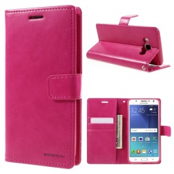 Samsung Galaxy J5(2016) Bluemoon Wallet Case Pink