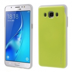 Samsung Galaxy J5(2016) Sky Slide Bumper Case Green