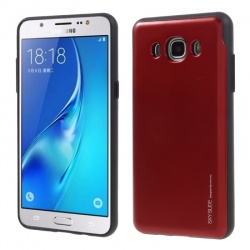 Samsung Galaxy J5(2016) Sky Slide Bumper Case Red