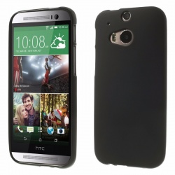 HTC One M8 Silicon Case Black