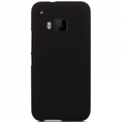 HTC One M9 Silicon Case Black