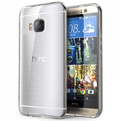 HTC One M9 Silicon Case Clear
