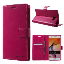 Samsung Galaxy A5(2017) Bluemoon Wallet Case Hotpink